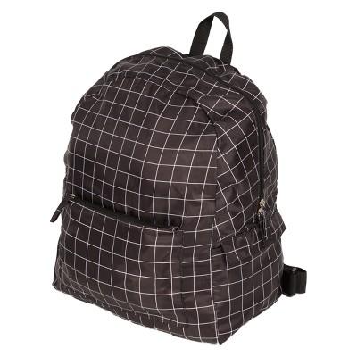Fold Up Backpack - Blue