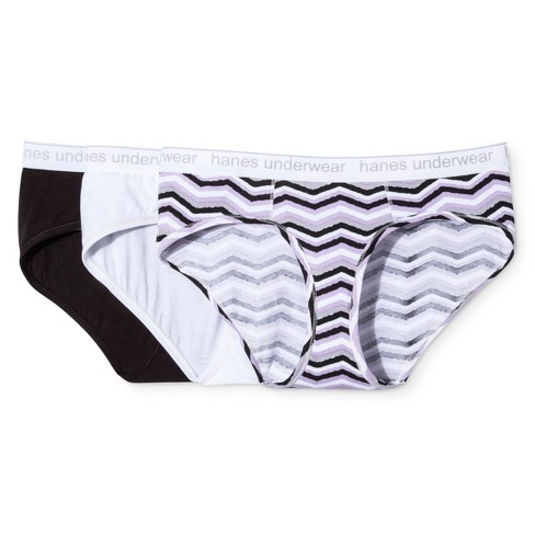 031614e35ba3 Hanes Premium Women's 3pk Boyfriend Hipster - Colors May Vary M : Target