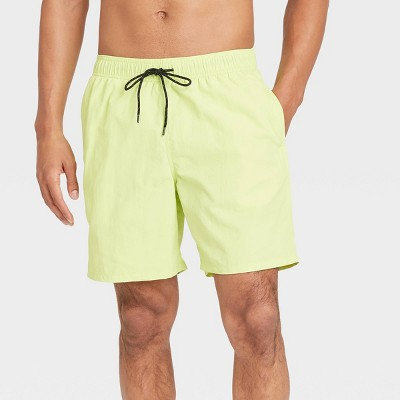 "Men's 7"" Swim Trunks - Goodfellow & Co™ Green"