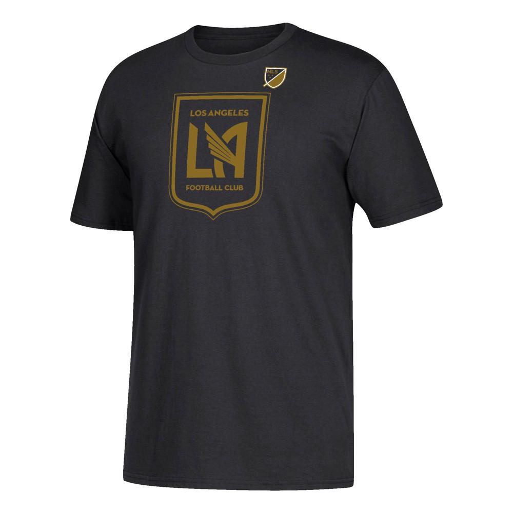 Men's Short Sleeve Corner Kick Logo T-Shirt Los Angeles FC S, Multicolored