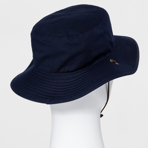 Men s Bucket Hat - Goodfellow   Co™ Navy   Target 7c9eb0139eb