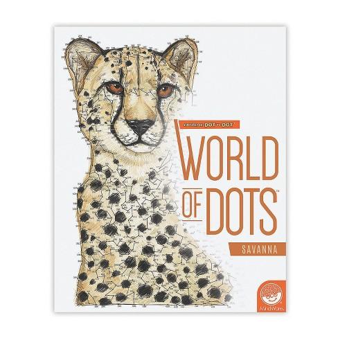 MindWare Extreme Dot To Dot World Of Dots: Savanna - Brainteasers - image 1 of 2