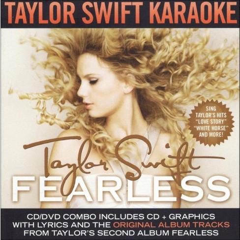 Taylor Swift Fearless Karaoke Cd G Dvd Target