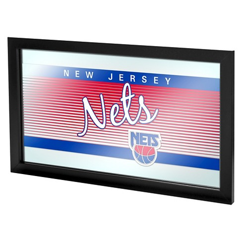 Brooklyn Nets Team Logo Wall Mirror - image 1 of 1