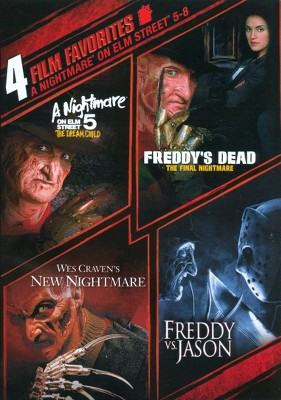 A Nightmare on Elm Street 5-8: 4 Film Favorites (DVD)