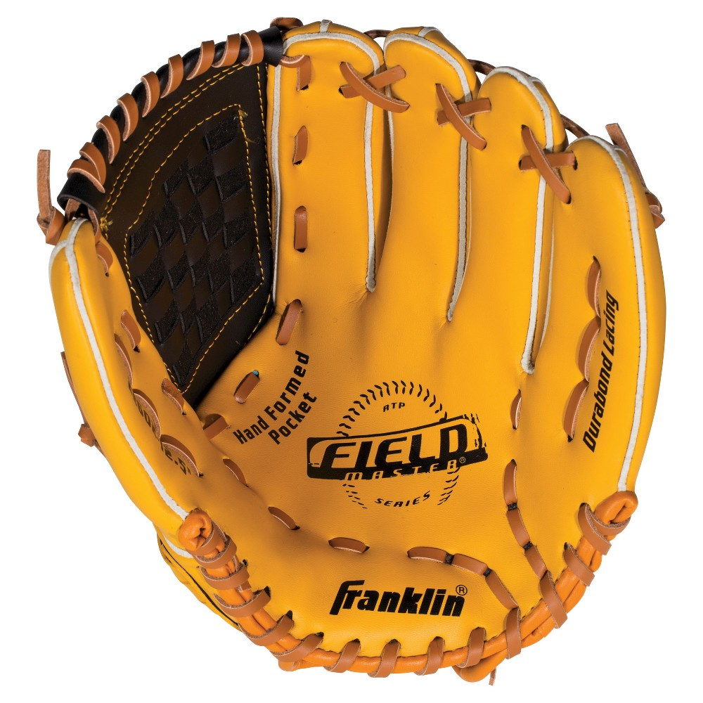 Franklin Sports Field Master Series 12.5 Baseball Glove Right-Hand Thrower, Multi-Colored