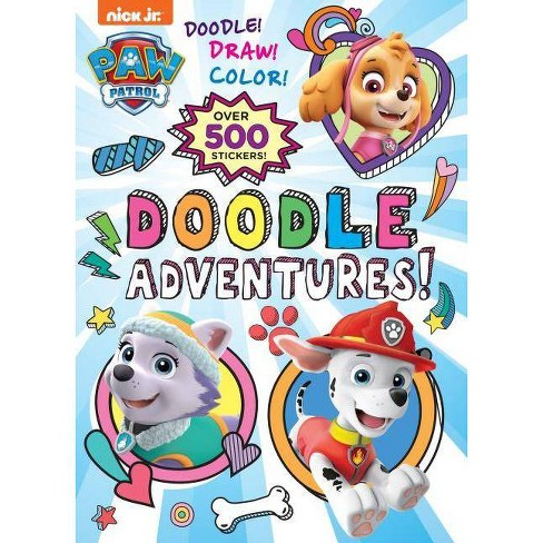Doodle Adventures! - PAW Patrol by Golden Books (Paperback) - image 1 of 1