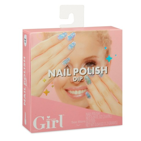 Who's That Girl Nail Polish Dip- Pearly Dust - image 1 of 4