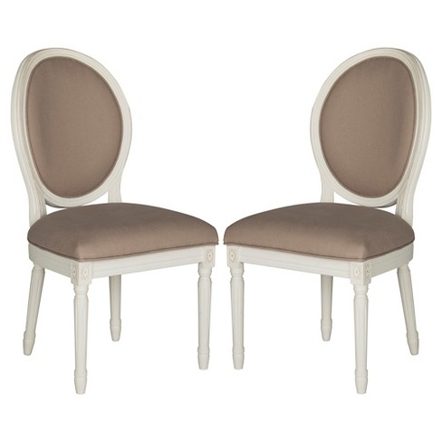 Holloway Oval Side Chair Wood/Spring (Set of 2) - Safavieh® - image 1 of 7