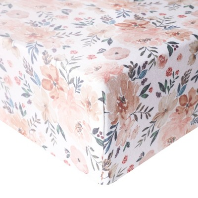 Copper Pearl Premium Crib Sheet - Autumn