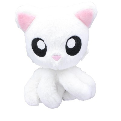 "Tentacle Kitty Little Ones 4"" Plush: White"