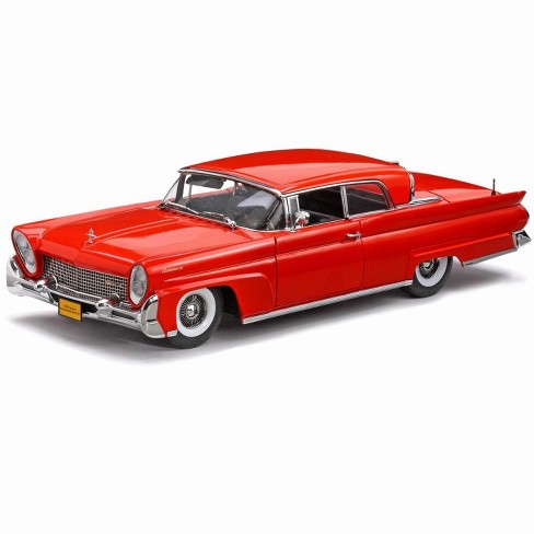 1958 Lincoln Continental Mark Iii Red Platinum Target