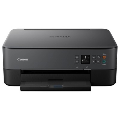Canon PIXMA TS6420 Wireless All-In-One Photo Printer with Copier, Scanner and Mobile Printing - Black