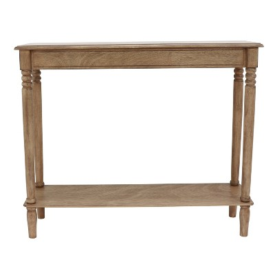 Simplify Console Table Brown - Décor Therapy