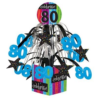 Milestone Celebrations 80th Birthday Centerpiece