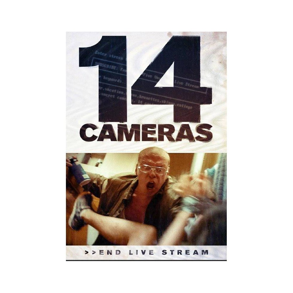 14 Cameras (Dvd), Movies An unassuming family with two daughters rents a new home for the summer, having no idea their obsessive landlord, Gerald, is broadcasting their every move online. Viewers become increasingly fixated on the two college girls. When a follower on the dark web offers to buy one of the girls, Gerald must protect what is his.