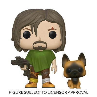 Funko POP! TV: The Walking Dead - Daryl with Dog