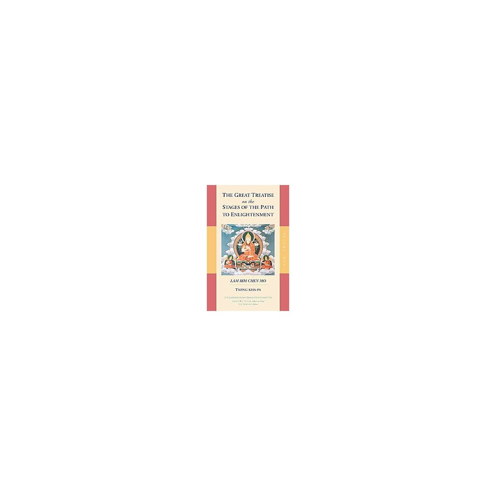 Great Treatise on the Stages of the Path to Enlightenment (Vol 1) (Reprint) (Paperback) (Tson-Kha-Pa)