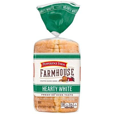 Pepperidge Farm Farmhouse® Hearty White Bread, 24oz Bag