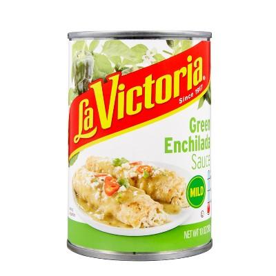 La Victoria Green Chile/ Chile Verde Enchilada Sauce 10oz