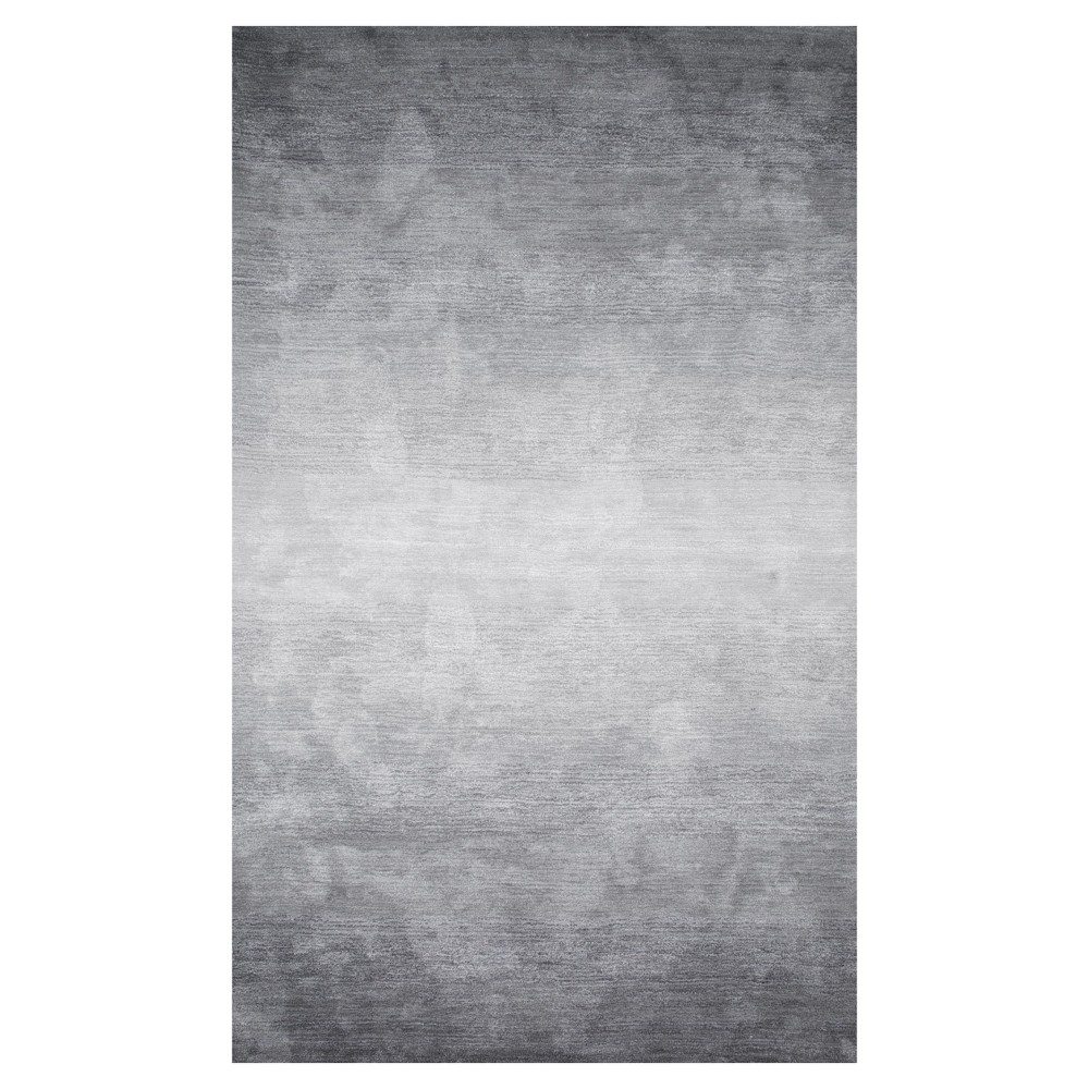 Gray Abstract Tufted Runner - (2'6x8') - nuLOOM