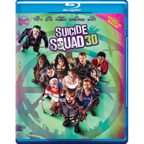 Suicide Squad (3D) (Blu-ray) - image 1 of 1