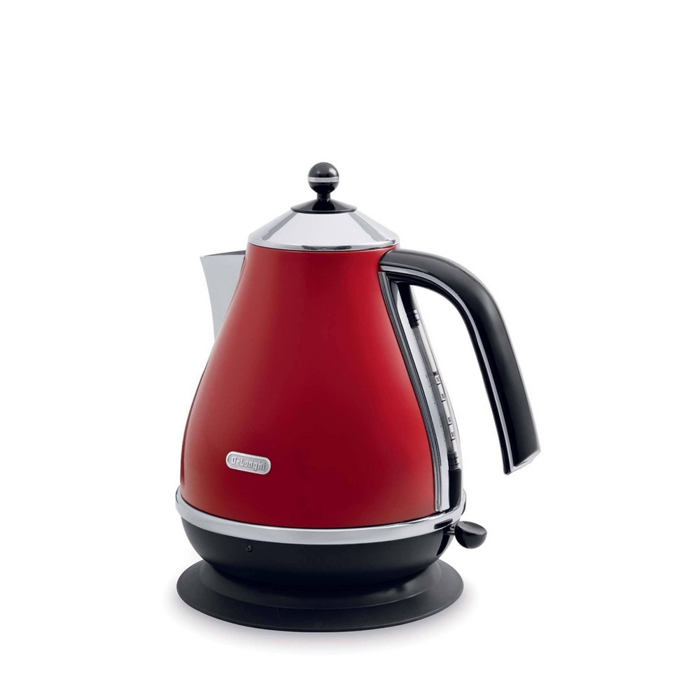 Delonghi Electric Kettle - Red