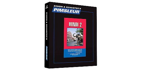 Simon & Schuster's Pimsleur Hindi 2 (Bilingual) (CD/Spoken Word) - image 1 of 1