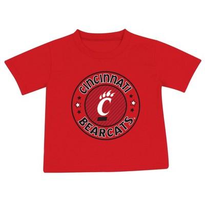 NCAA Cincinnati Bearcats Toddler Boys' 2pk Short Sleeve T-Shirt