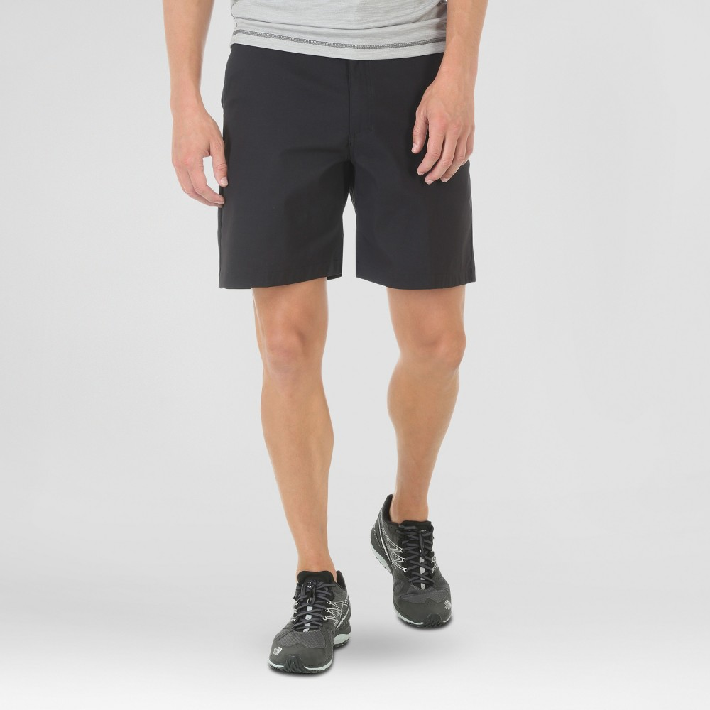 Wrangler Men's Outdoor Series Flat Front Performance Shorts 10 - Black 32