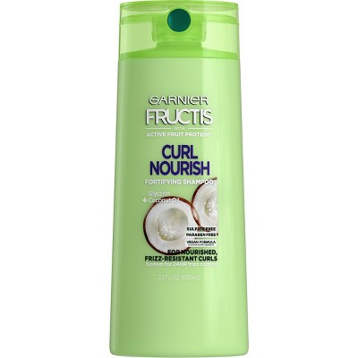 Garnier Fructis Curl Nourish Sulfate-Free Shampoo Infused with Coconut Oil & Glycerin -  22 fl oz