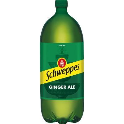 Schweppes Ginger Ale Soda - 2 L Bottle