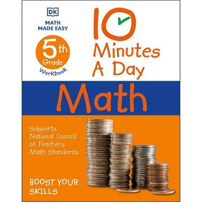 10 Minutes a Day Math, 5th Grade - (Paperback)