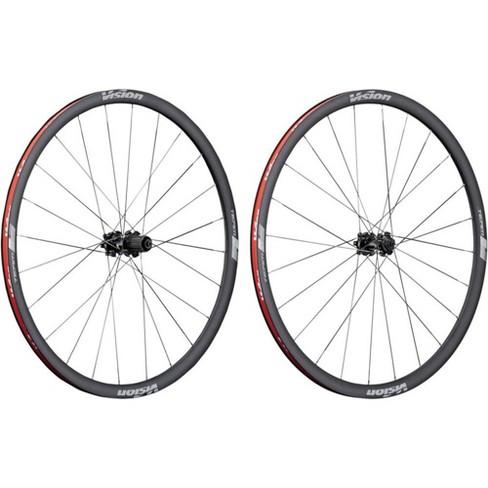 Vision Team 30 Wheelset - 700c, QR x 100/135mm, HG 11, Center-Lock, Black - image 1 of 3