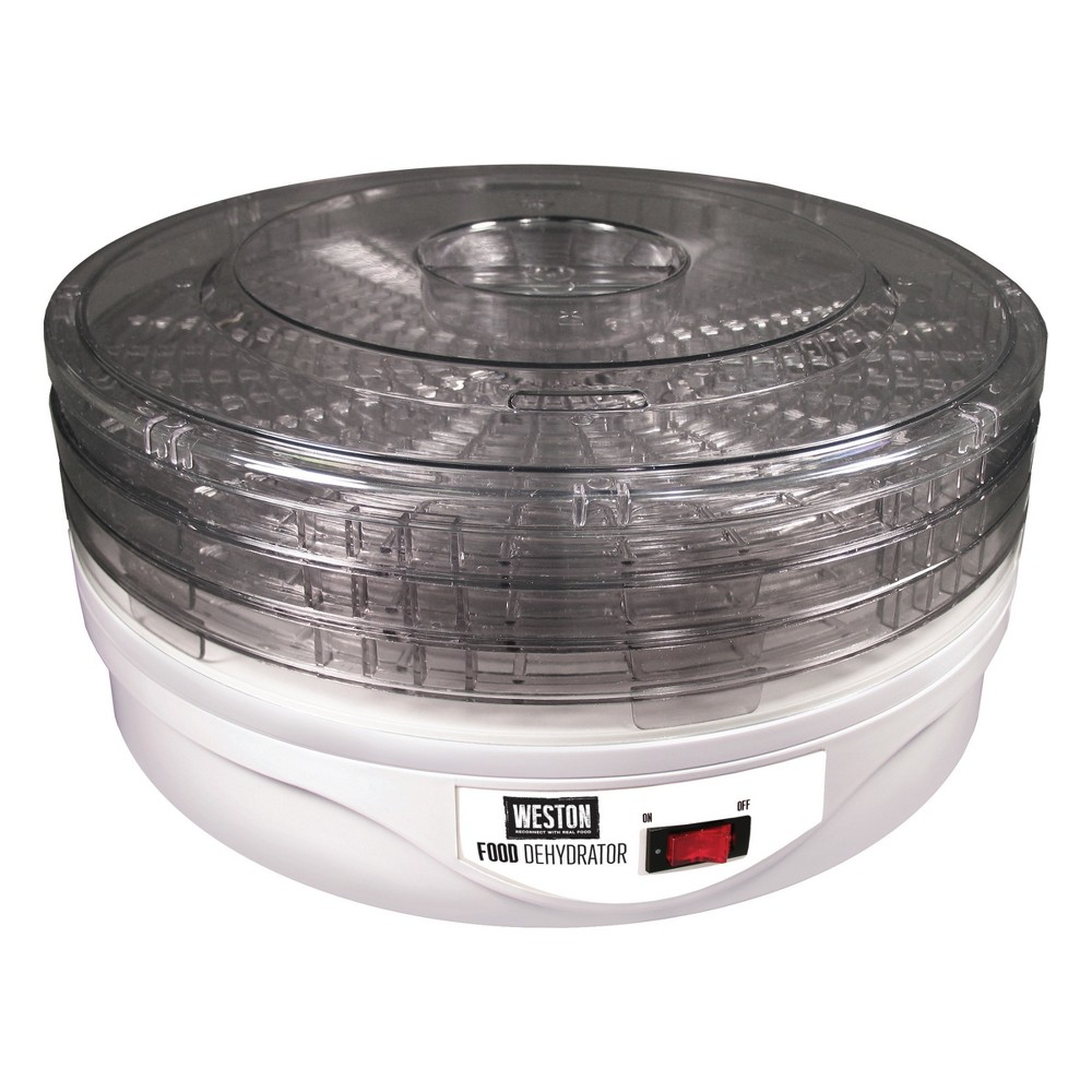 Weston 4 Tray Round Dehydrator, White 51077083