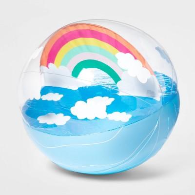 """17.5"""" Beach Ball Rainbow - Sun Squad™"""