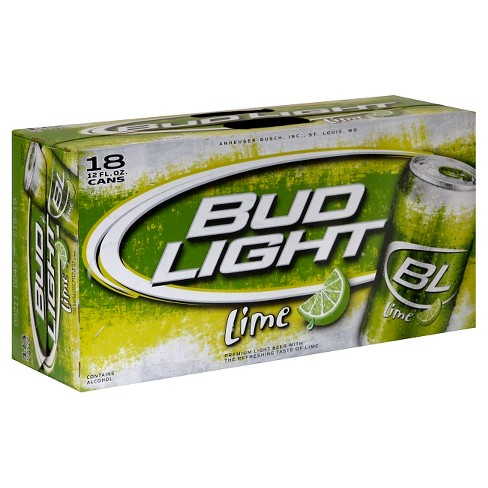 Bud Light® Lime Beer - 18pk / 12oz Cans - image 1 of 1