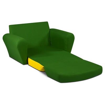Johnny Tractor Sweet Dreamer Pull Out Sleep Sofa   Green U0026 Yellow   John  Deere : Target