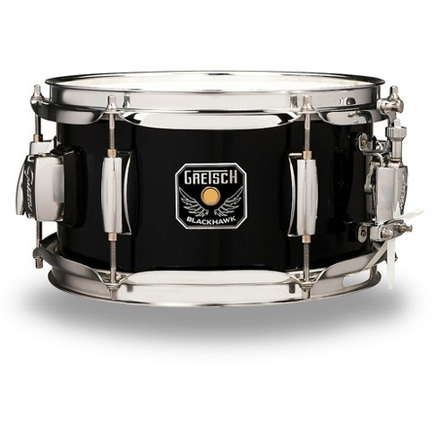 Gretsch Drums Blackhawk Mighty Mini Snare with Mount 10 x 5 5 in  Black