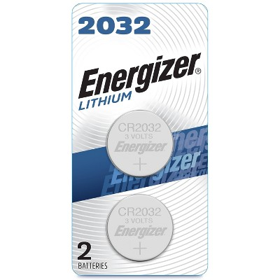 Energizer 2pk 2032 Batteries Lithium Coin Battery