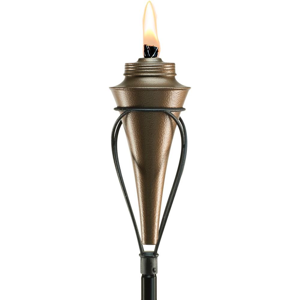 """Image of """"65"""""""" Kiawah Metal Torch Copper - TIKI, Brown"""""""