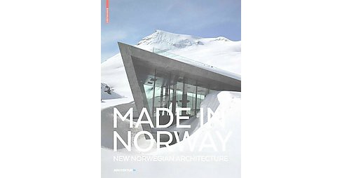 Made in Norway : New Norwegian Architecture (Paperback) - image 1 of 1