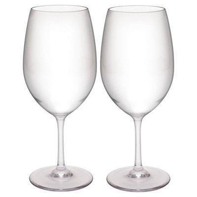 Trinity 2pk Red Wine Glasses - Zak Designs