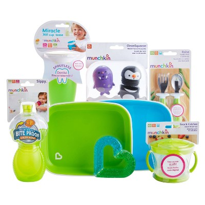 Munchkin 1st Birthday Baby Gift Basket - Neutral