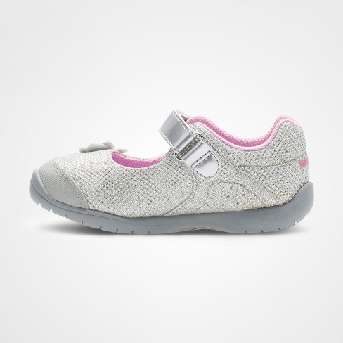 5a9431aaa78 Toddler Girls  Surprize By Stride Rite® Katelyn Mary Jane Shoes - Silver    Target