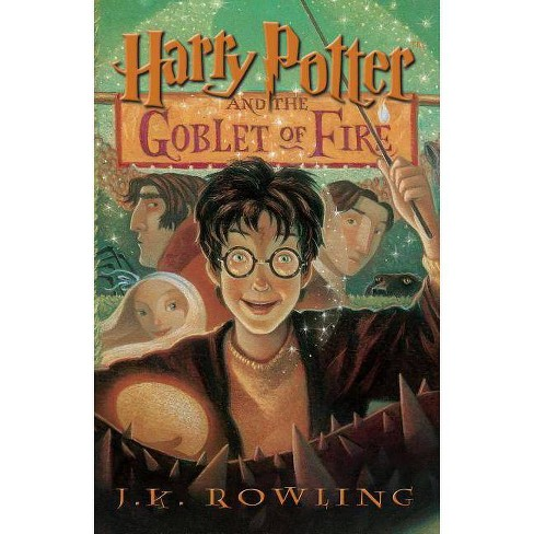Harry Potter and the Goblet of Fire - by  J K Rowling (Paperback) - image 1 of 1