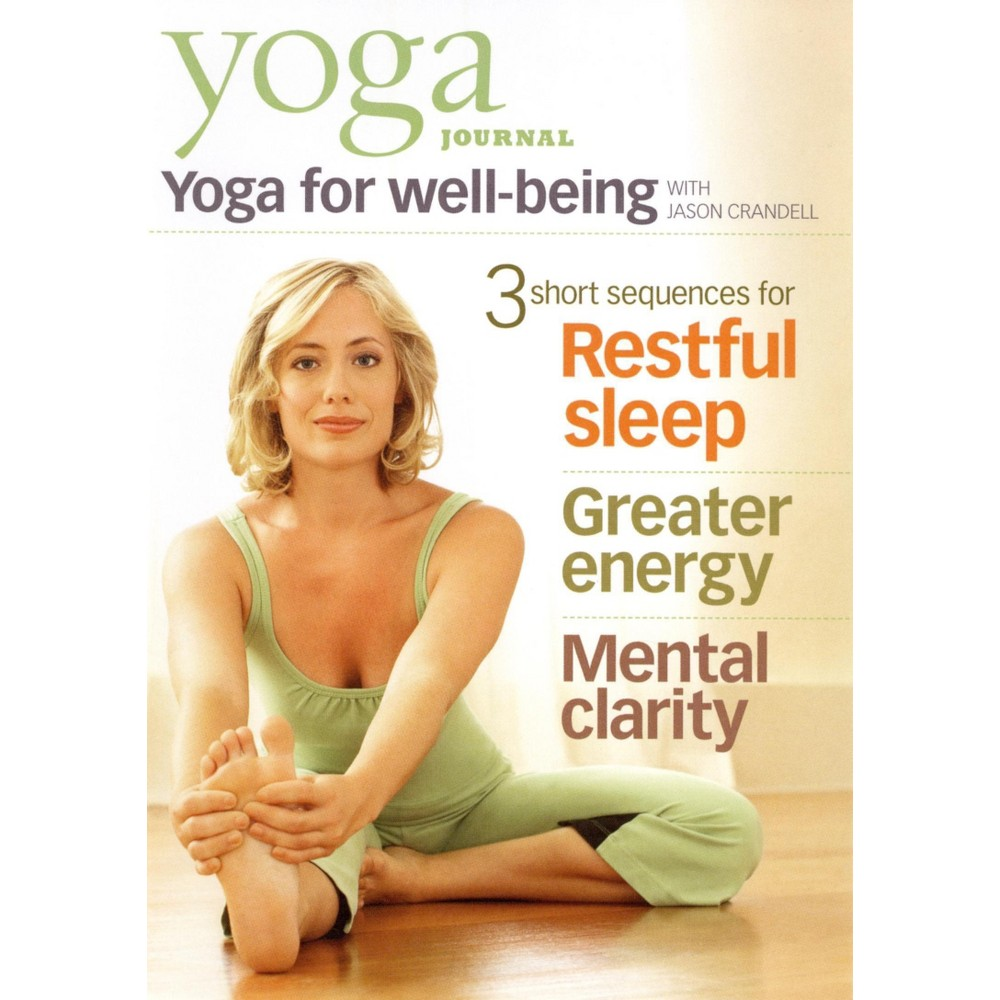Yoga Journal:Yoga For Well Being (Dvd)