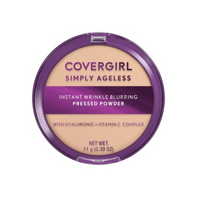 COVERGIRL Simply Ageless Instant Wrinkle Blurring Pressed Powder - 0.39oz