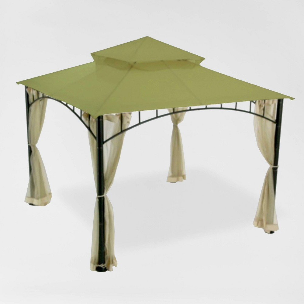 Image of Madaga Replacement Canopy Riplock Sage - Garden Winds, Green