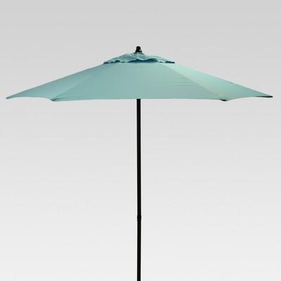 7.5' Round Patio Umbrella - Turquoise - Room Essentials™